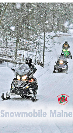 Snowmobile Denmark Maine