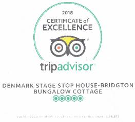 Trip Advisor Certficate of Excellence